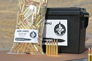 223 55gr FMJ 250 Rounds