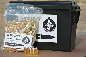 380 ACP 100 GR 1000 Rounds
